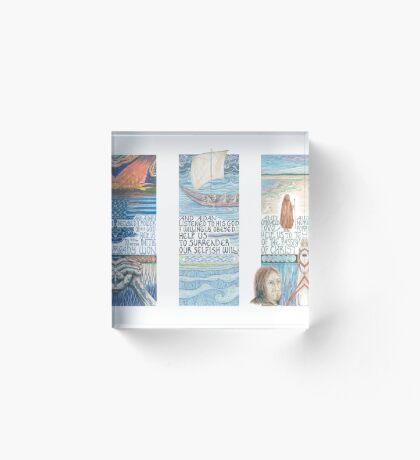 Stories of St. Aidan Acrylic Block