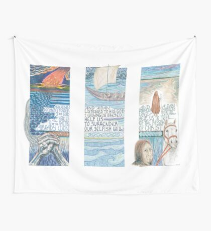 Stories of St. Aidan Wall Tapestry