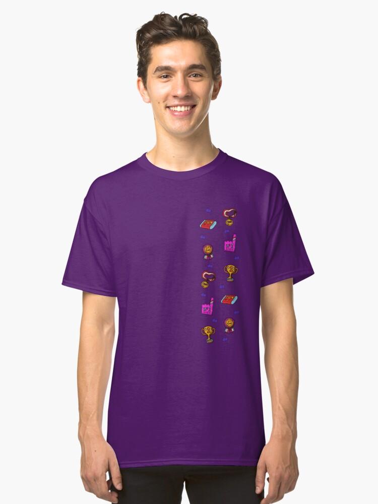 violet beauregarde champion pattern classic t shirt by fafacascardo