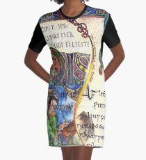 The Venerable Bede Graphic T-Shirt Dress