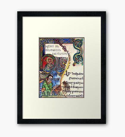 The Venerable Bede Framed Print