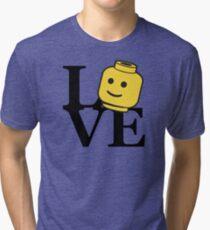 LOVE Bricks Tri-blend T-Shirt