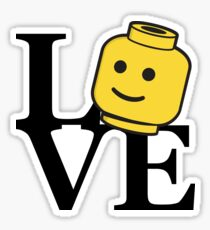 LOVE Bricks Sticker