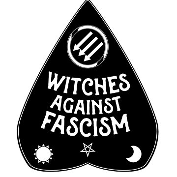 Witches Against Fascism by Hexadecimal