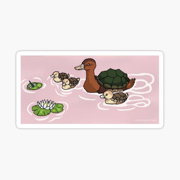Turtleduck Family Sticker
