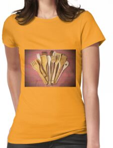 Kitchen utensil  Womens Fitted T-Shirt