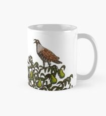 A Partridge Bird in a Pear Tree Mug