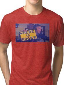Scott Zolak -- Where is Roger Tri-blend T-Shirt