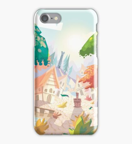 Landscape fairytale iPhone Case/Skin
