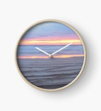 cable beach fire sunset  Clock