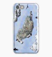 Flying sheep iPhone Case/Skin