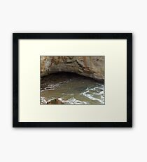 Tidal forces Framed Print