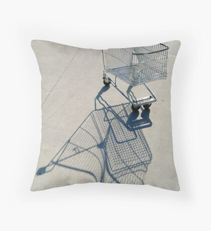 Shopping Trolly,Grovedale Geelong Throw Pillow