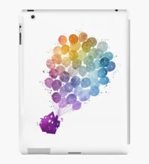 Up - Watercolor iPad Case/Skin