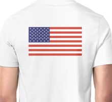 American Flag, Stars & Stripes, Pure & Simple, America, USA Unisex T-Shirt