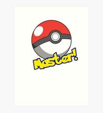 Pokémon Master Art Print