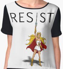 """She-Ra says """"RESIST"""" Chiffon Top"""