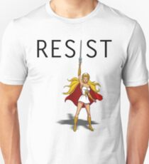 "She-Ra says ""RESIST"" T-Shirt"