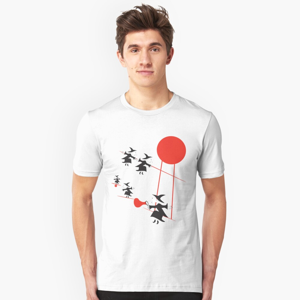 My wicked red bubble Unisex T-Shirt Front