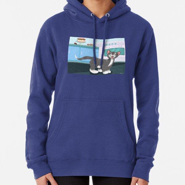 Hoodies Sweatshirt Pockets Kawaii,Surprised Cake with Icing,Sweatshirts for Boys