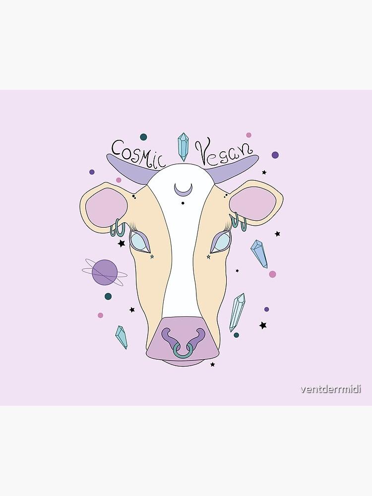 Kosmische vegane Kuh. von ventderrmidi