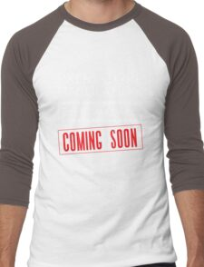 Premature Ejaculation The Movie. Coming Soon Men's Baseball ¾ T-Shirt