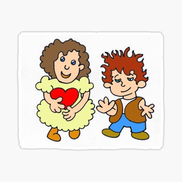 I give you my heart by Laila Cichos Sticker