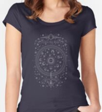 Carve The Mark - Galaxy Model Map Women's Fitted Scoop T-Shirt