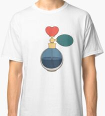 Perfume bottle with heart Classic T-Shirt