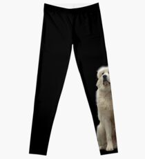 The Great Pyrenees mountain dog Leggings