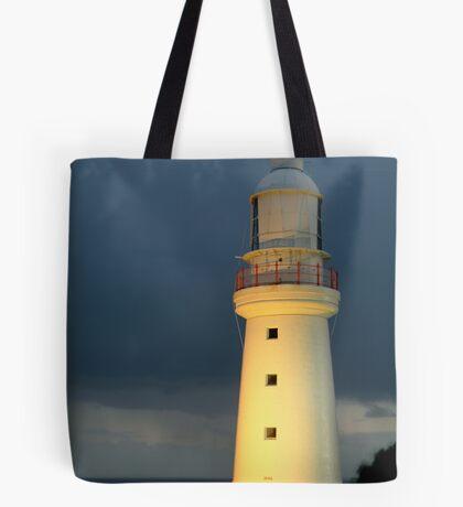 Twilight Rain, Cape Otway Lightstation Tote Bag