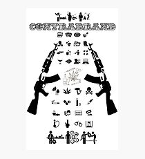 ContraBrand Logo Photographic Print