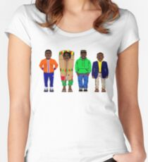 Cool Runnings to Calgary Women's Fitted Scoop T-Shirt
