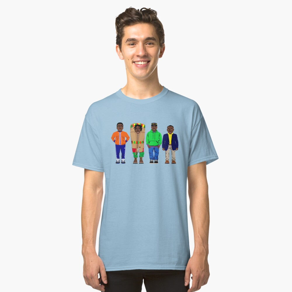 Cool Runnings to Calgary Classic T-Shirt Front