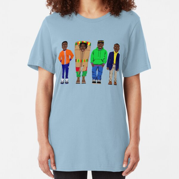 Cool Runnings to Calgary Slim Fit T-Shirt