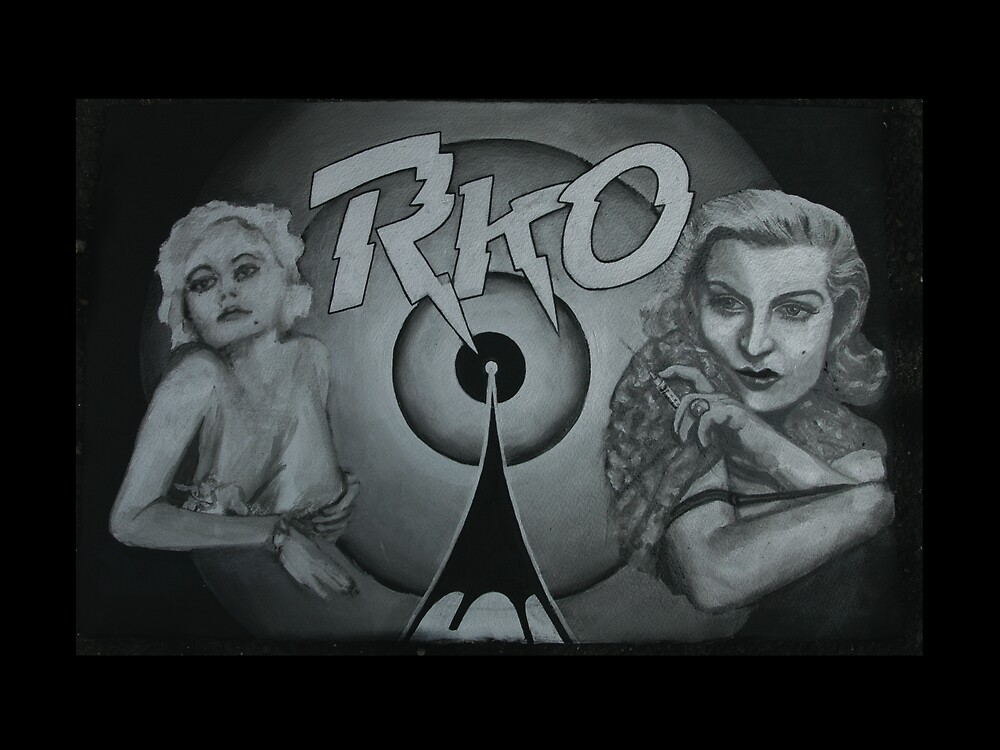 RKO feat. Jean Harlow and Lana Turner by Tom Dunn