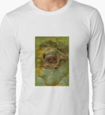 One Grungy Rose Long Sleeve T-Shirt