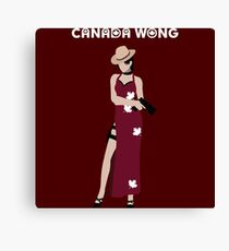 Can-Ada Wong Canvas Print