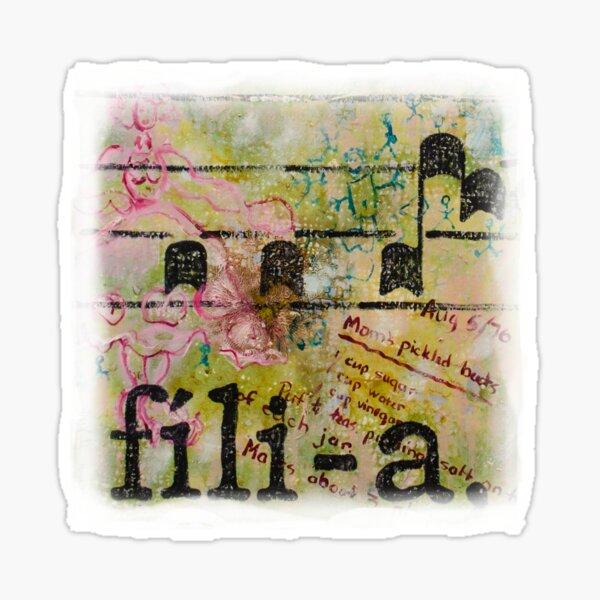 fili-a Sticker