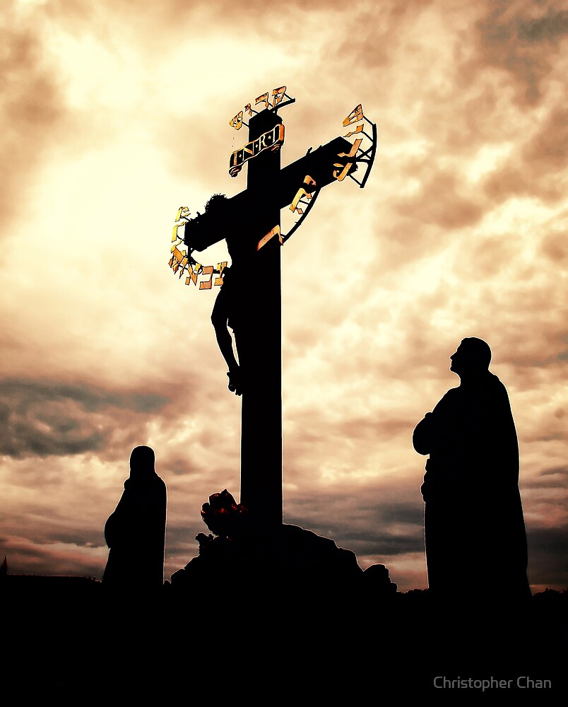 The Crucifix and Calvary by Christopher Chan