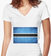 Concetto SApa Women's Fitted V-Neck T-Shirt