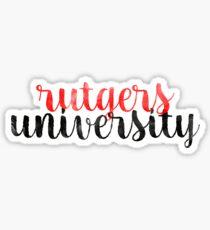 Rutgers University - Style 1 Sticker