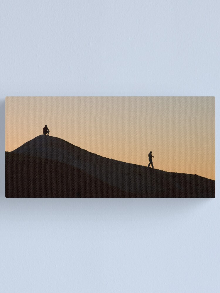 Alternate view of Departing Canvas Print