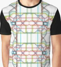 Tube Lines Graphic T-Shirt