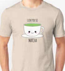 Ich liebe dich so Matcha Slim Fit T-Shirt
