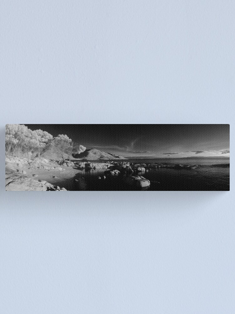 Alternate view of Coles Bay at dusk Canvas Print