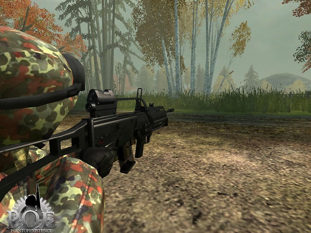 G-36 ingame Screenshot by SenorFreebie