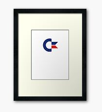 commodore logo Framed Print
