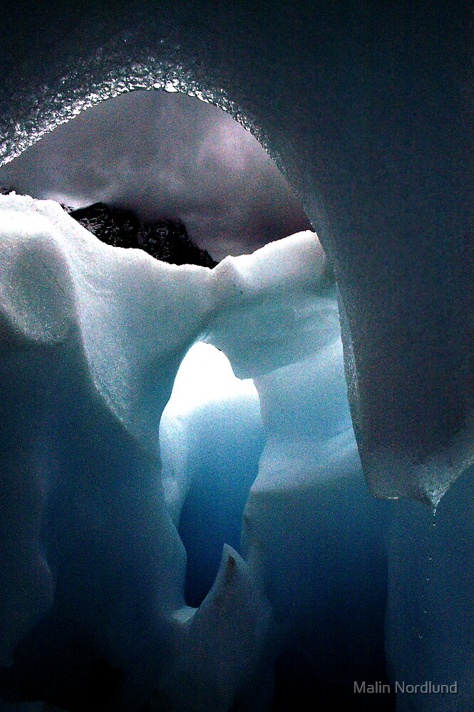 blue ice by Malin Nordlund