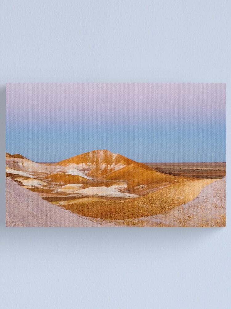 Alternate view of Breakaways at dusk Canvas Print